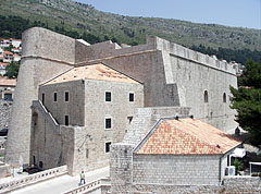 Saint Luke's Tower (or St. Luke's Fortress) - Dubrovnik, Croatia