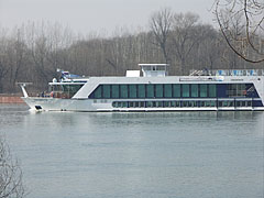 "The Swiss-owned ""MS AMADOLCE"" cabined riverboat and boat hotel - Dunakeszi, Hungary"