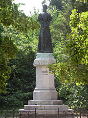 "Memorial statue of Empress Elisabeth of Austria and Queen of Hungary (often called ""Sisi"") - Gödöllő, Hungary"
