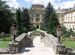 The courtyard of Szent István University can humble even some castles - Gödöllő, Hungary