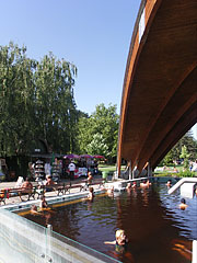 "The ""Shaded Pool"" of the spa - Gyula, Hungary"