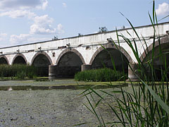 "The Nine-holed Bridge of Hortobágy (""Kilenclyukú híd"") in summer - Hortobágy, Hungary"