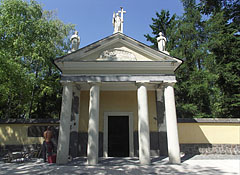 The Votive Chapel of Saint Rosalia is just under renovation - Jászberény, Hungary