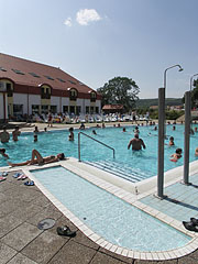 The outdoor adventure pool in the open-air bath - Kehidakustány, Hungary