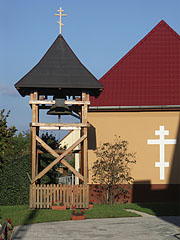 The belfry of the Greek Catholic Church - Nyírbátor, Hungary