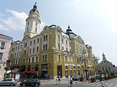 City Hall of Pécs, and the farther on the left - Pécs, Hungary