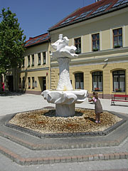 János Vitéz Fountain or John the Vailant's Fountain - Ráckeve, Hungary