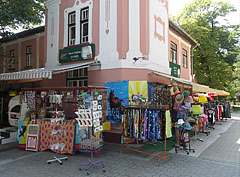 Gift shops at Móló Pizzeria and Restaurant - Révfülöp, Hungary