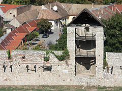 "The so-called ""Bastion Tower"" on the northern side of the outer castle wall - Siklós, Hungary"