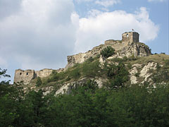 The Castle of Sirok on the hilltop, in the place of a former Slavic pagan castle - Sirok, Hungary