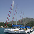 Sailboat harbour - Slano, Croatia