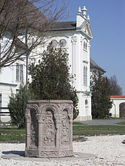 Details of the southern garden of the Forgách Mansion - Szécsény, Hungary