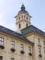 The firewatch and clock tower of the City Hall - Szeged, Hungary