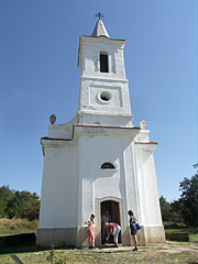 The authentic copy of the church of Óbudavár, which was built in 1836 - Szentendre, Hungary