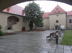 Spring thunderstorm in the Szerencs Castle - Szerencs, Hungary