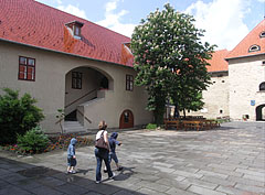 "The courtyard of the ""fore-castle"" - Szerencs, Hungary"