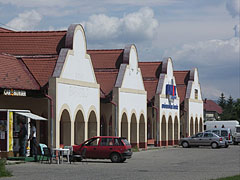 Row of shops - Szerencs, Hungary