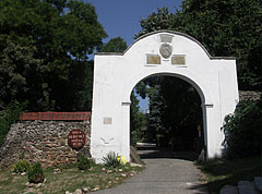Gate of the Lengyel-Putheány Mansion - Szigliget, Hungary