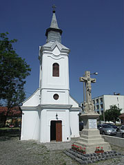 The Saint Francis Xavier Chapel is a pilgrimage site since 1767, according to a papal decree - Szolnok, Hungary
