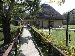Footpath to the meerkats and the restaurant - Veszprém, Hungary