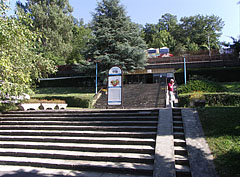 Entrance of the thermal bath of Lepence Valley - Visegrád, Hungary