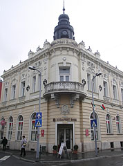 The two-story palace of the Budapest Bank - Zalaegerszeg, Hungary