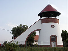 The Kőhegy Lookout Tower is standing on the Kő Hill (or formerly Ördögkő Hill) - Zamárdi, Hungary