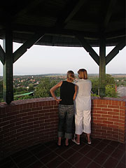 The Kőhegy Lookout Tower from inside - Zamárdi, Hungary
