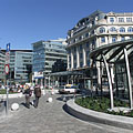 The renovated Kálvin Square - ブダペスト, ハンガリー