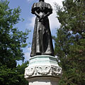 "Statue of Empress Elizabeth of Austria or as often called ""Sisi"" - Gödöllő, ハンガリー"