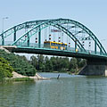 The Árpád Bridge of Ráckeve over River Danube - Ráckeve, ハンガリー