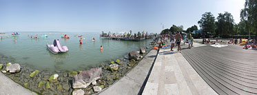 Lakeside of the Balaton, Beach - Siófok, هنغاريا
