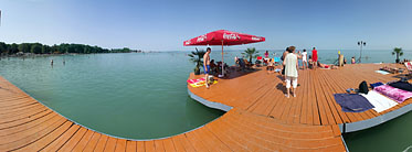 Lakeside of the Balaton, Beach - Siófok, Hungary