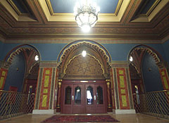 Decorative ornaments on the first floor of the Uránia National Film Theatre (cinema) - Будимпешта, Мађарска